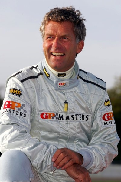 Christian Danner (GER).Grand Prix Masters Testing, Day One, Silverstone, England, 26 October 2005.DIGITAL IMAGE