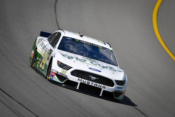 #14: Clint Bowyer, Stewart-Haas Racing, Ford Mustang One Cure