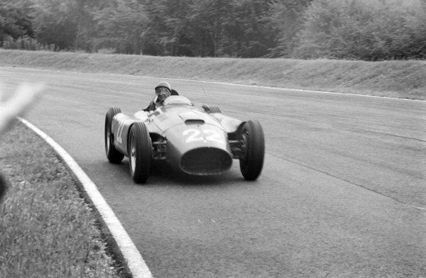 Juan Manuel Fangio/Eugenio Castellotti, Ferrari D50.