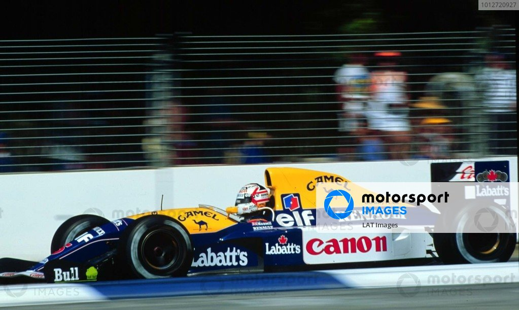 1991 Australian Grand Prix.