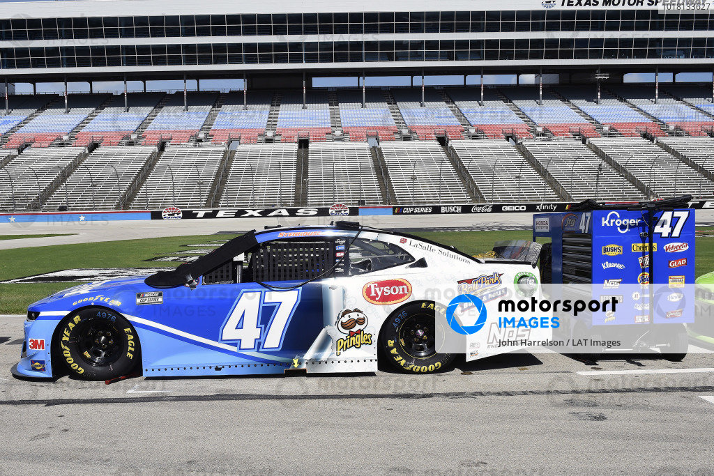 #47: Ricky Stenhouse Jr., JTG Daugherty Racing, Chevrolet Camaro Kroger