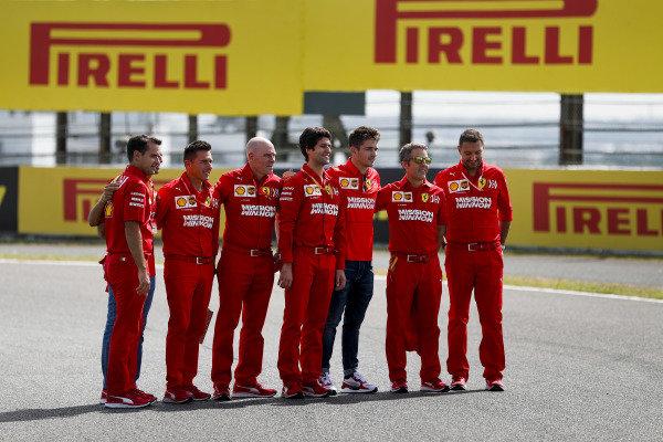 Sebastian Vettel, Ferrari Charles Leclerc, Ferrari
