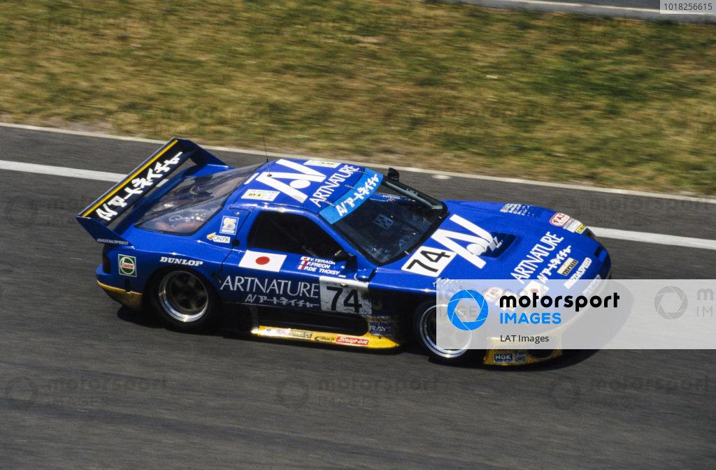 Yojiro Terada / Franck Fréon / Pierre de Thoisy, Team Artnature, Mazda RX 7 GTO.
