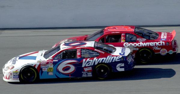 2000 Daytona 500, February 20, 2000, Daytona, FL, USAMark Martin and Dale Earnhardt Jr.2000 Daytona NASCAR-2000, Michael L. Levitt, USALAT PHOTOGRAPHIC
