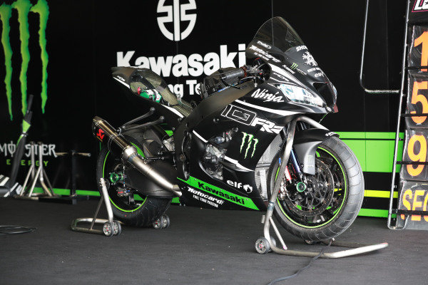 Bike of Alex Lowes, Kawasaki Racing Team.