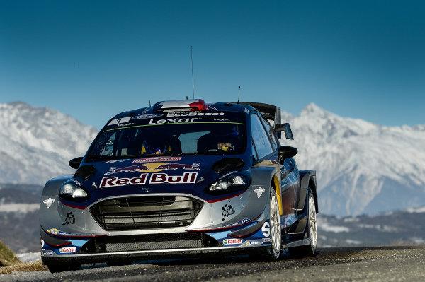 Sebastien Ogier (FRA) / Julien Ingrassia (FRA), M-Sport World Rally Team Ford Fiesta WRC at FIA World Rally Championship, Rd1, Rally Monte Carlo, Preparations and Shakedown, Monte Carlo, Monaco, 18 January 2017.