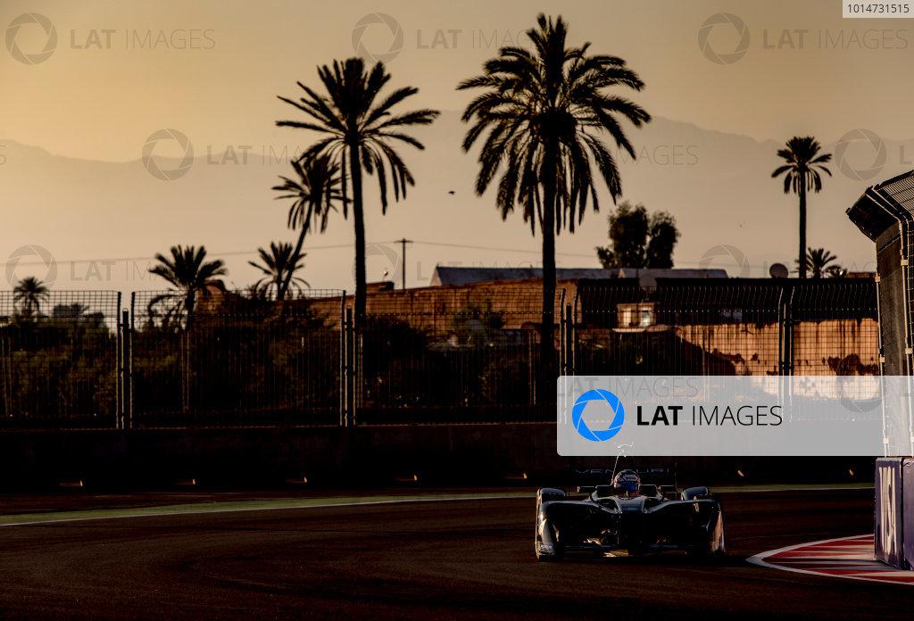 2016/2017 FIA Formula E Championship. Marrakesh ePrix, Circuit International Automobile Moulay El Hassan, Marrakesh, Morocco. Saturday 12 November 2016. Stephane Sarrazin (FRA), Venturi, Spark-Venturi, Venturi VM200-FE-02.  Photo: Zak Mauger/LAT/Formula E ref: Digital Image _X0W5303