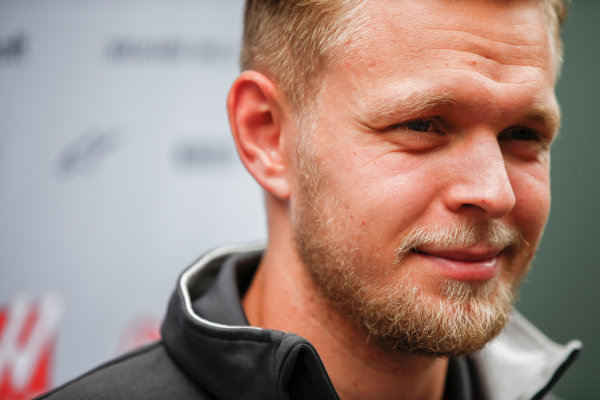 Interlagos, Sao Paulo, Brazil. Thursday 09 November 2017. Kevin Magnussen, Haas F1. World Copyright: Andy Hone/LAT Images  ref: Digital Image _ONY7440