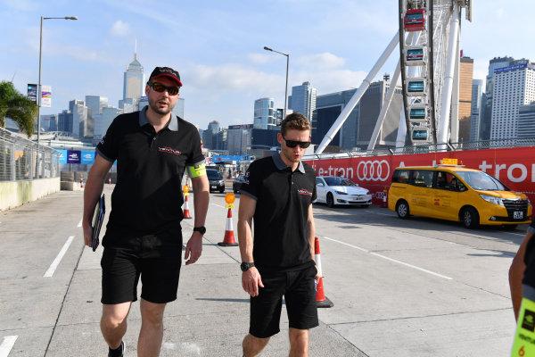 2017/2018 FIA Formula E Championship. Riound 1 - Hong Kong, China. Thursday 21 July 2016. Maro Engel (GER), Venturi Formula E Team, Venturi VM200-FE-03 Photo: Mark Sutton/LAT/Formula E ref: Digital Image DSC_0061