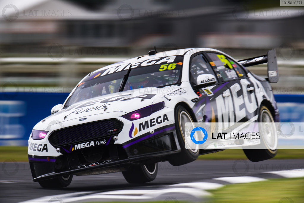 2017 Supercars Championship Round 14.  Auckland SuperSprint, Pukekohe Park Raceway, New Zealand. Friday 3rd November to Sunday 5th November 2017. Jason Bright, Prodrive Racing Australia Ford.  World Copyright: Daniel Kalisz/LAT Images  Ref: Digital Image 031117_VASCR13_DKIMG_1050.jpg