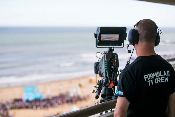 Formula E TV Crew