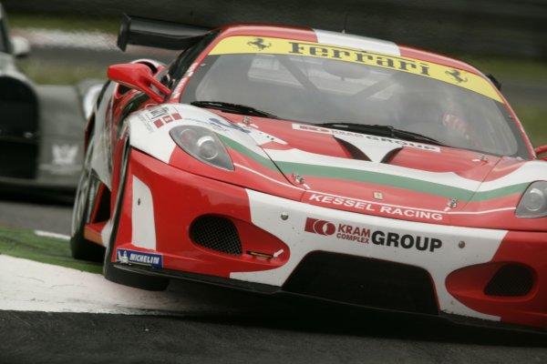 2008 FIA GT3 Championship.Monza, Italy.16th - 18th May 2008.Plamen Kralev/Dimitar Liev, Ferrari 430 GT3. Action.World Copyright: Drew Gibson/LATref: Digital Image _Y2Z0729