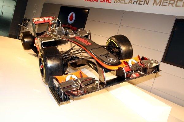 The new McLaren MP4-27.McLaren MP4-27 Launch, McLaren Technology Centre, Woking, England, 1 February 2012.