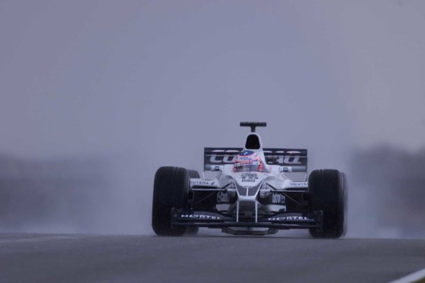 2000 British Grand Prix.Silverstone, England. 21-23 April 2000.Jenson Button (Williams FW22 BMW) 5th position.World Copyright - LAT Photographic