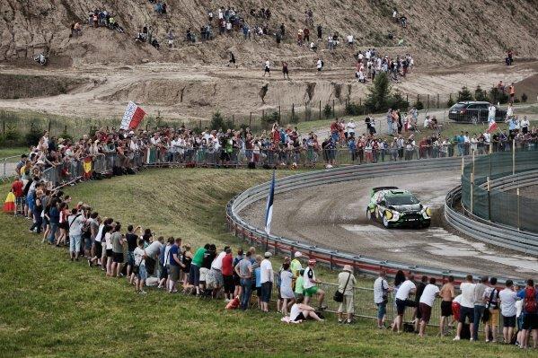 Yazeed Al Rajhi (UAE) / Michael Orr (GBR), Yazeed Racing Ford Fiesta RS WRC at FIA World Rally Championship, Rd7, Rally Poland, Day One, Mikolajki, Poland, 1 July 2016.