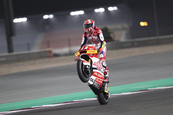 Nicolo Bulega, Moto2, Qatar MotoGP, 26 March 2021