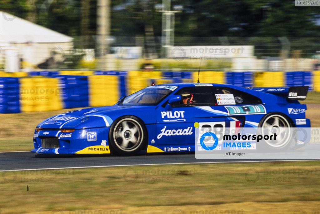Michel Ferté / Olivier Grouillard / Michel Neugarten, Sté Jacadi Racing, Venturi 600 LM.