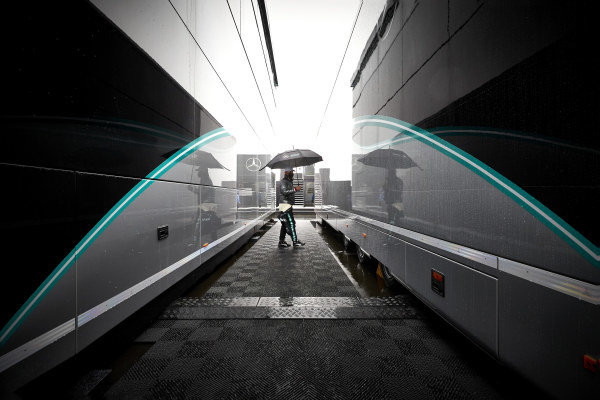 Valtteri Bottas, Mercedes-AMG Petronas F1 in the paddock