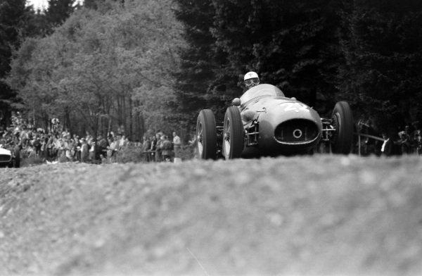 Luigi Musso, Maserati 250F.