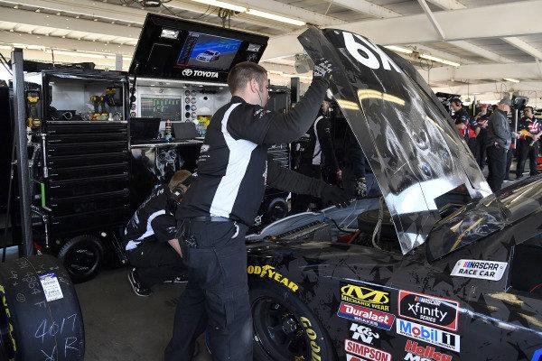 #18: Kyle Busch, Joe Gibbs Racing, Toyota Supra Extreme Concepts/iK9 crew