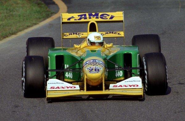 Martin Brundle, Benetton B192 Ford.