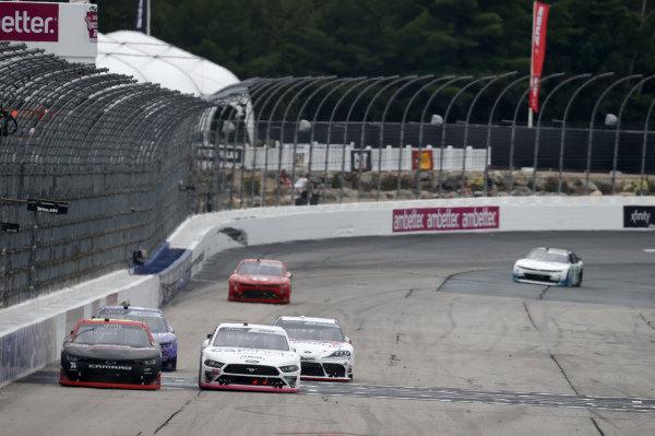 #22: Austin Cindric, Team Penske, Ford Mustang Car Shop, #31: Jordan Anderson, Jordan Anderson Racing, Chevrolet Camaro Bommarito.com