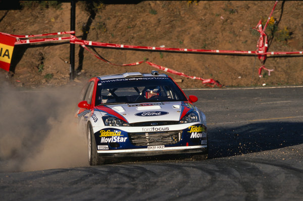 2002 World Rally ChampionshipRally Catalunya, Spain. 21st - 24th March 2002.Colin McRae, Ford Focus WRC 02, 6th position overall.World Copyright: McKlein/LAT Photographic.ref: 35mm Image 02 WRC 12