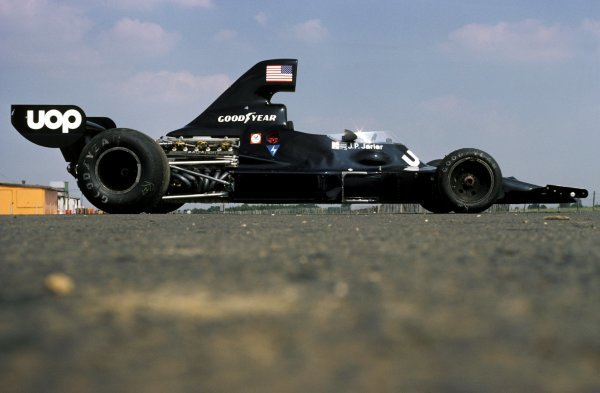The Shadow DN7 of Jean-Pierre Jarier (FRA) was unveiled at the British GP but not raced. Featuring a Matra V12 engine rather than a Ford Cosworth DFV, the DN7 was raced just twice at Austria and Italy later in the season.British Grand Prix, Silverstone, 19 July 1975.BEST IMAGE
