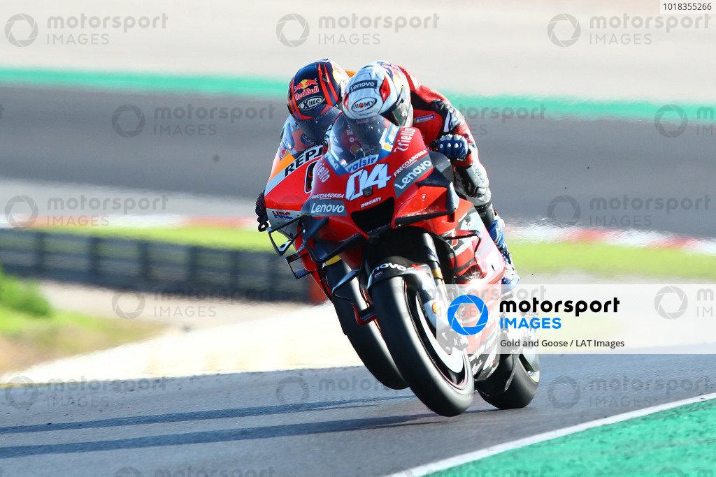 Andrea Dovizioso, Ducati Team, Stefan Bradl, Repsol Honda Team.