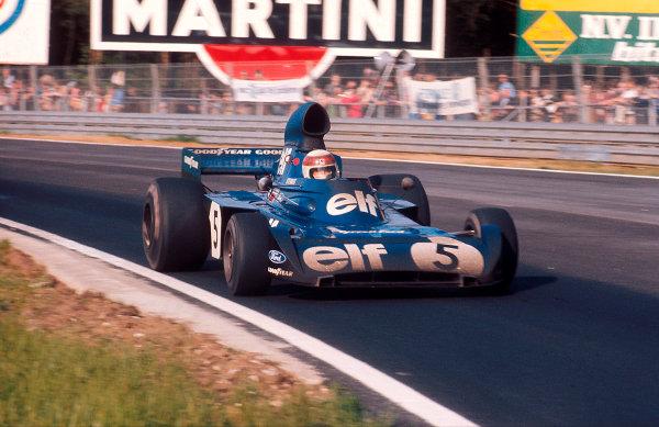 1973 Belgian Grand Prix.Zolder, Belgium.18-20 May 1973.Jackie Stewart (Tyrrell 006 Ford) 1st position.Ref-73 BEL 08.World Copyright - LAT Photographic