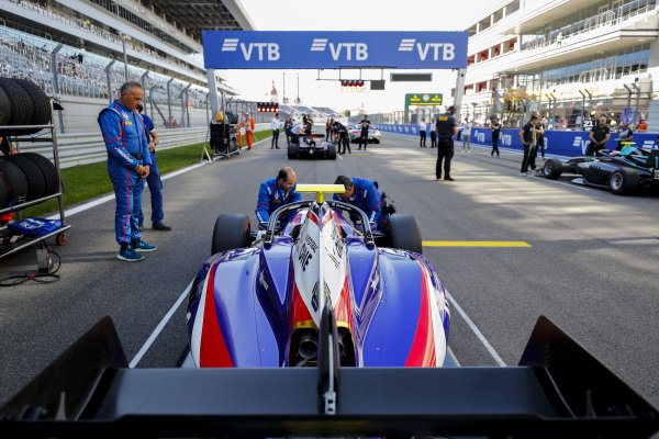 SOCHI AUTODROM, RUSSIAN FEDERATION - SEPTEMBER 29: Pedro Piquet (BRA, Trident) during the Sochi at Sochi Autodrom on September 29, 2019 in Sochi Autodrom, Russian Federation. (Photo by Carl Bingham / LAT Images / FIA F3 Championship)