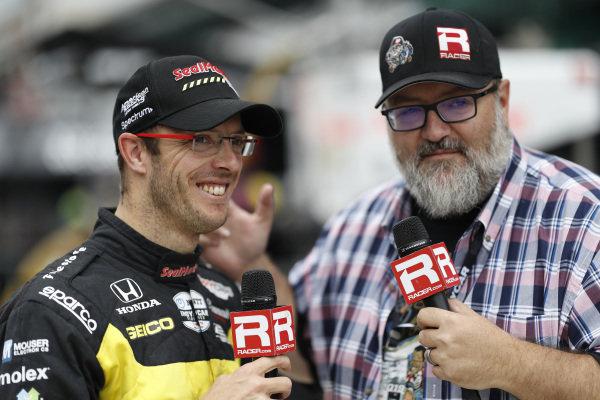Sebastien Bourdais, Dale Coyne Racing with Vasser-Sullivan Honda, Marshall Pruett