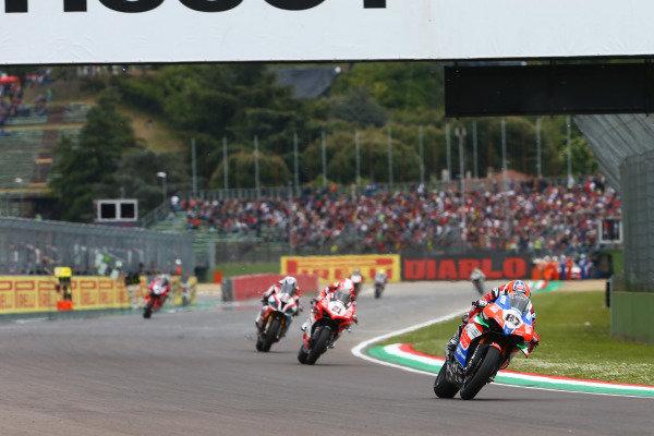 Lorenzo Zanetti, Ducati, Michael Ruben Rinaldi, Barni Racing Team.