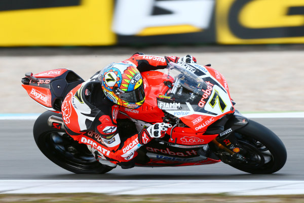 2017 Superbike World Championship - Round 4 Assen, Netherlands. Friday 28 April 2017 Chaz Davies, Ducati Team World Copyright: Gold and Goose Photography/LAT Images ref: Digital Image 666485