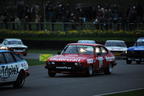 2017 75th Members Meeting Goodwood Estate, West Sussex,England 18th - 19th March 2017 Gerry Marshall Trophy Whitaker Mike Jordan Capri World Copyright : Jeff Bloxham/LAT Images Ref : Digital Image