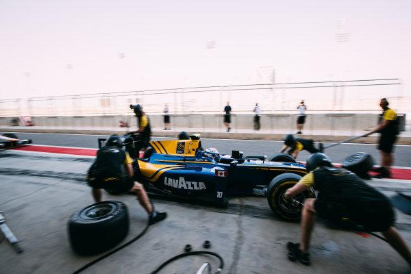 Bahrain International Circuit, Sakhir, Bahrain. Friday 31 March 2017 Nicholas Latifi (CAN) DAMS  Photo: Malcolm Griffiths/FIA Formula 2 ref: Digital Image MALC1716