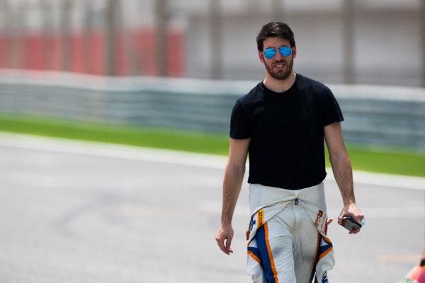 2017 FIA Formula 2 Round 1. Bahrain International Circuit, Sakhir, Bahrain.  Thursday 13 April 2017. Sergio Canamasas (ESP, Trident)  Photo: Sam Bloxham/FIA Formula 2. ref: Digital Image _W6I7635