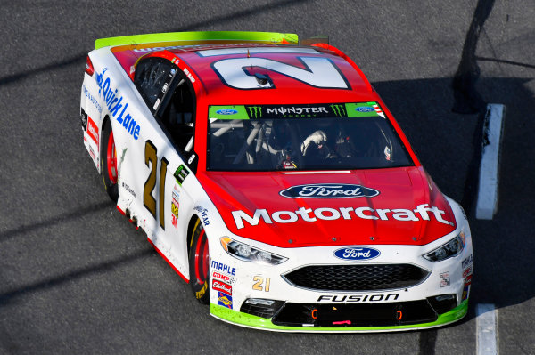 Monster Energy NASCAR Cup Series First Data 500 Martinsville Speedway, Martinsville VA USA Sunday 29 October 2017 Ryan Blaney, Wood Brothers Racing, Motorcraft/Quick Lane Tire & Auto Center Ford Fusion World Copyright: Nigel Kinrade LAT Images