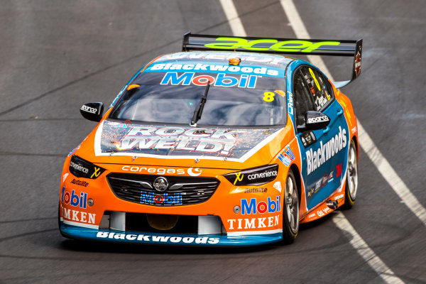 2018 Supercars Championship Adelaide 500, Adelaide, South Australia, Australia Friday 2 March 2018  #8 Nick Percat (Aust) Blackwoods Racing  World Copyright: Dirk Klynsmith / LAT Images ref: Digital Image 2018VASC01-02889