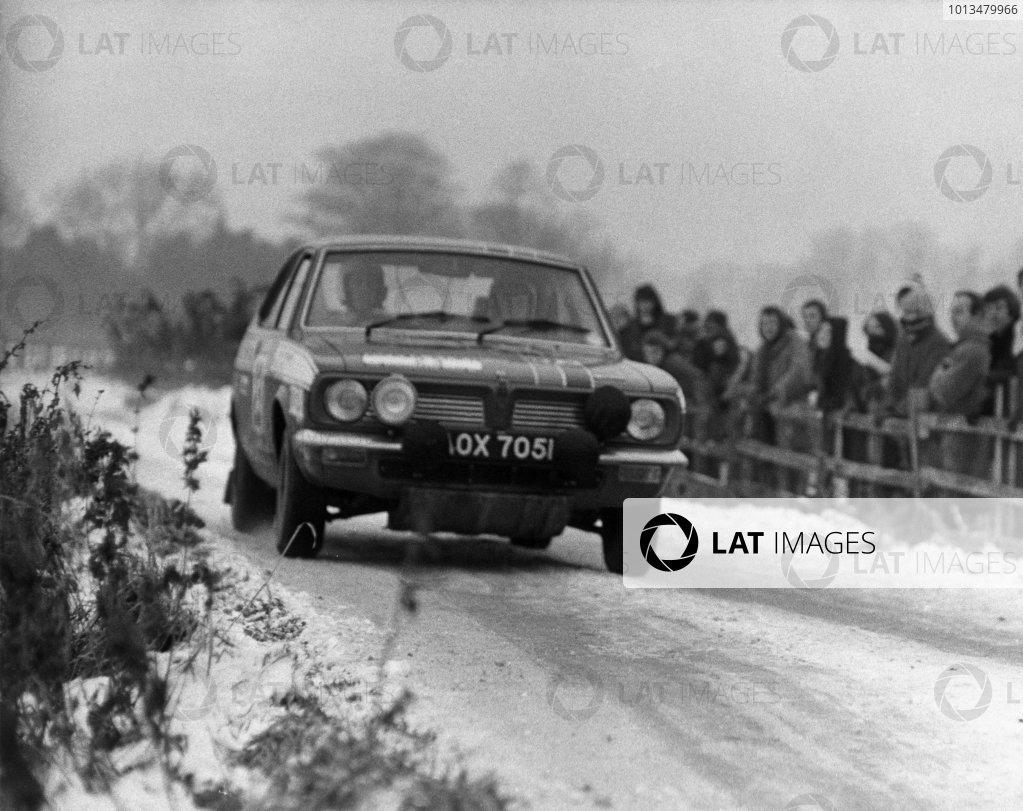 1971 Daily Mirror RAC Rally.