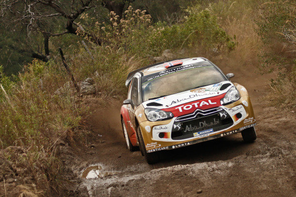 Mads Ostberg (NOR) / Jonas Andersson (SWE), Citroen DS3 WRC. FIA World Rally Championship, Rd5, Rally Argentina, Day One, Cordoba-Villa Carlos Paz, Argentina, 9 May 2014.