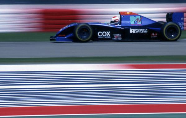 Roland Ratzenberger (AUT) Simtek. Formula One World Championship, Rd 3, San Marino Grand Prix, Imola, Italy, 29 April - 1 May 1994.
