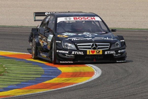 Gary Paffett (GBR), Thomas Sabo AMG Mercedes C-Klasse (2009).DTM, Rd9, Valencia, Spain, 1-2 October 2011.