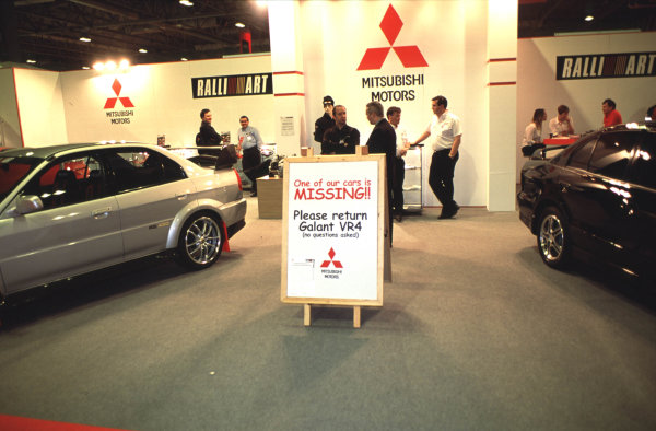 2001 Autosport International Show. NEC, Birmingham, England. 11th - 14th January 2001. World Copyright - Bloxham / LAT Photographic ref: 01show24