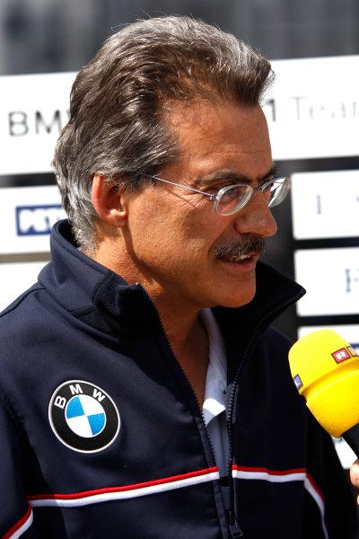 Nurburgring, Germany9th July 2009Mario Theissen, Director, BMW Motorsport. Portrait.World Copyright: Andrew Ferraro/LAT Photographicref: Digital Image _H0Y9373