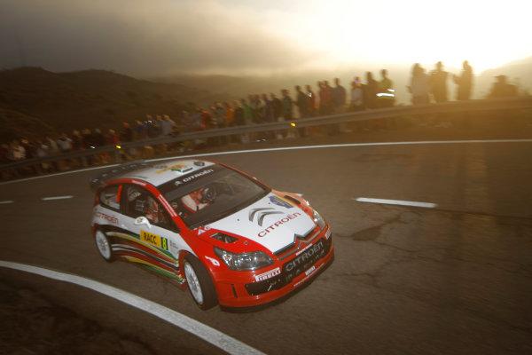 Round 11Rally Catalunya 01-04 October 2009Conrad Rautenbach, WRC, Citroen, ActionWorldwide Copyright: McKlein/LAT