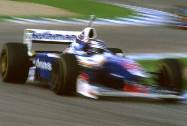 Jerez, Spain.24-26 October 1997.Heinz-Harald Frentzen (Williams FW19 Renault) 6th position.Ref-97 EUR 09.World Copyright - LAT Photographic