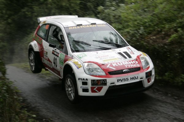 2006 British Rally ChampionshipUlster Rally, Armagh.2nd September 2006Darren GassWorld Copyright - Ebrey/LAT Photographic