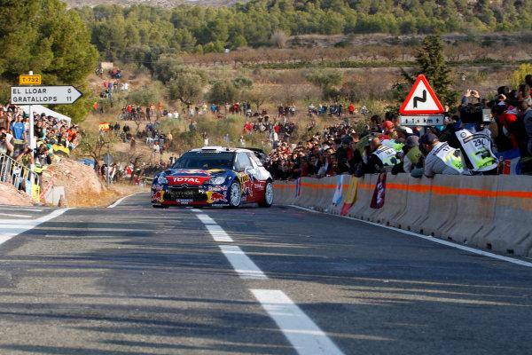 Round 12-Rally Spain. 20th-23th October 2011.Sebastien Ogier, Citroen WRC, Action.Worldwide Copyright: McKlein/LAT