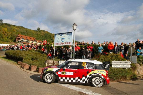 Round 11, Rallye de France 20124th - 7th October 2012Dani Sordo, MINI, actionWorldwide Copyright: McKlein/LAT